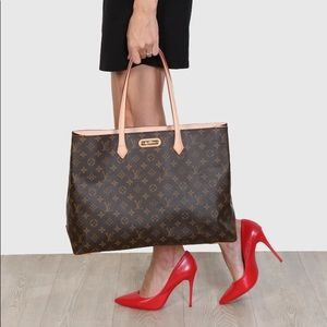 Louis Vuitton Wilshire MM Monogram Tote